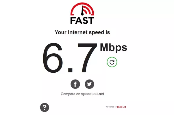 Why is there a huge difference in internet speed measured