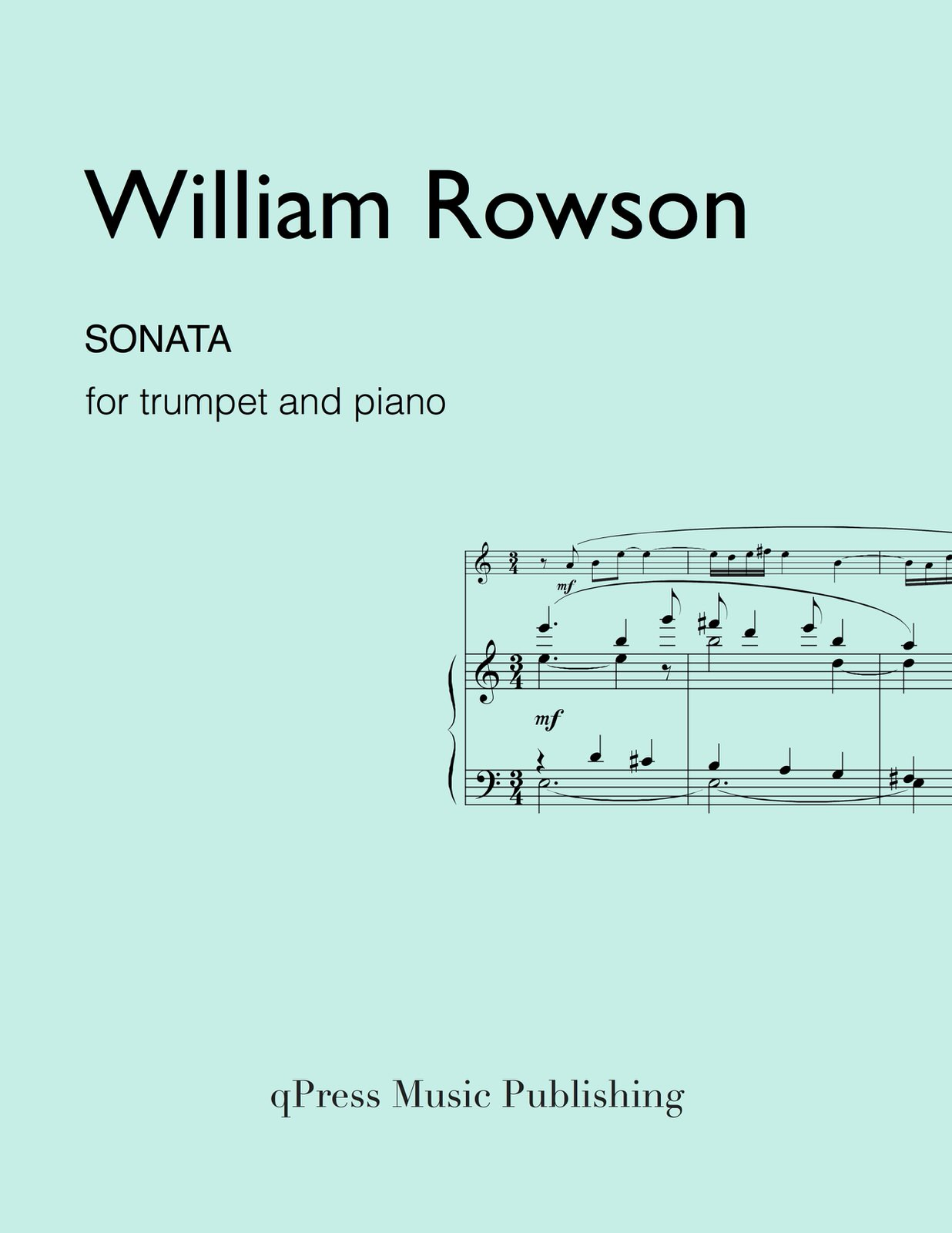 hight resolution of rowson sonata for trumpet and piano by rowson william