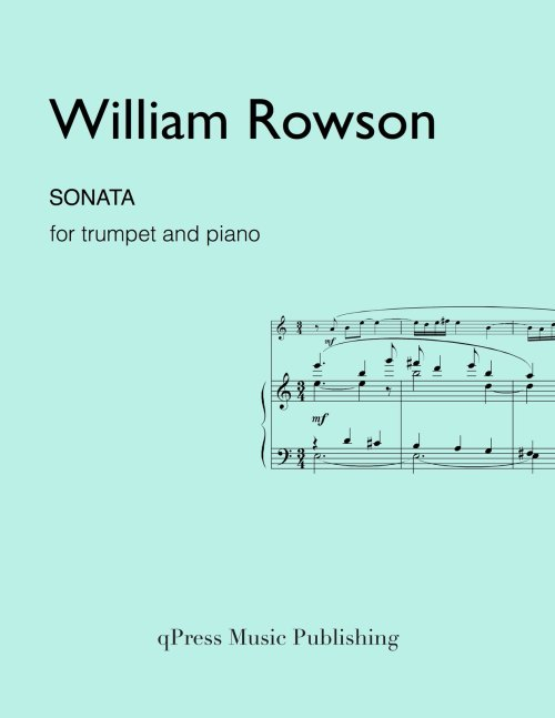 small resolution of rowson sonata for trumpet and piano by rowson william