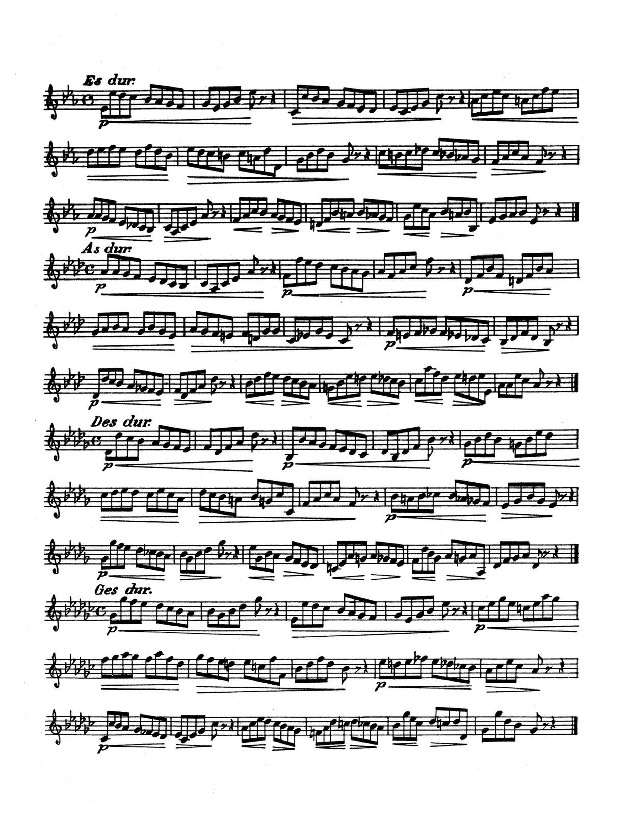 36 Stu S For Trumpet By Blume Oskar