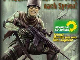 Falscher Freund USA und seine Vasallenpartei Bündnis90/DieGrünen