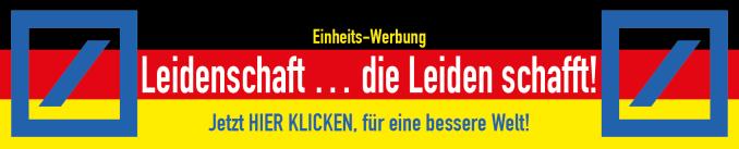 Deutsche Bank Leidenschaft die Leiden schafft fuer eine bessere welt 25 jahre deutsche einheit