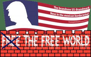 Deutsch-amerikanischer Zaunbau im Vergleich weißes Haus Bundestag Zäune Schutz abgrenzung Ausgrenzung