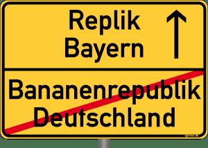 Bayern will auf dem Weg in die Diktatur führen