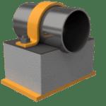 150mm QplaS Cold Line Support (Fig.420)