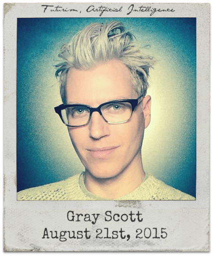 8.21.15 Gray Scott: Artificial Intelligence and Consciousness, Futurism