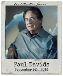 "9.9.16 Paul Davids: ""An Atheist in Heaven: The Ultimate Evidence for Life After Death?"""