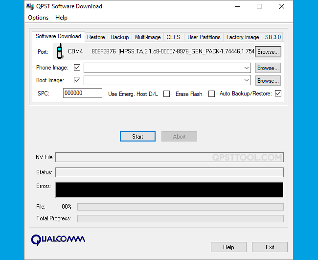 QPST Tool v2.7.363
