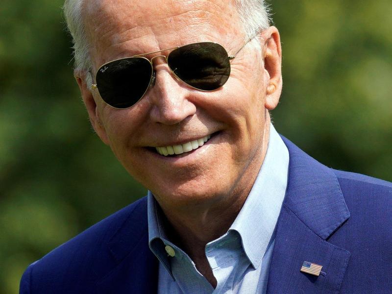 El presidente de Estados Unidos, Joe Biden, fue registrado este domingo a su llegada a la Casa Blanca, en Washington DC (EE.UU.) EFE/Yuri Gripas/Pool
