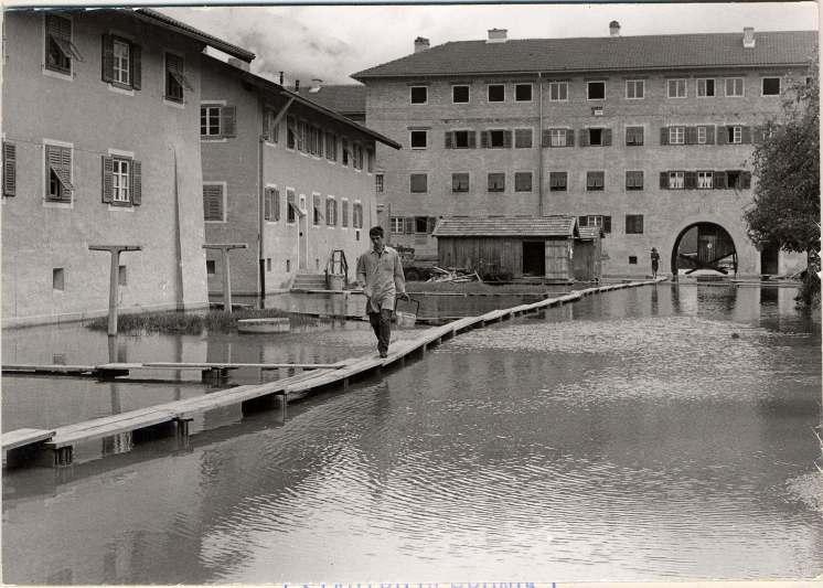 Freiheitssiedlung Hochwasser 1951