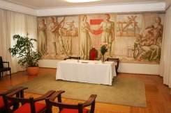 Malerei Trauungssaal Rathaus Schwaz