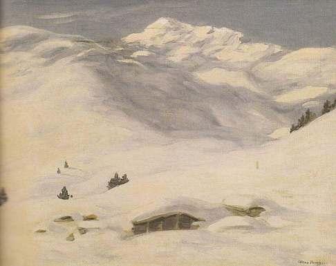Max Angerer Schneelandschaft