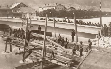 Abriss alte Brücke