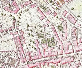 Grundriss der Bergstadt Schwaz, 1809
