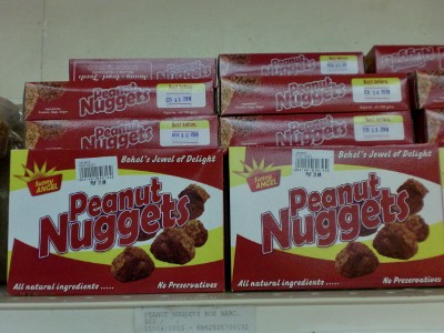 Peanut nuggets