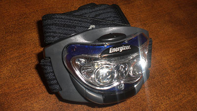 New Gear: Energizer Headlamp