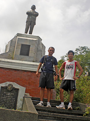 Ultrarunners Sean William and RunningPinoy