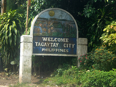 Welcome Tagaytay