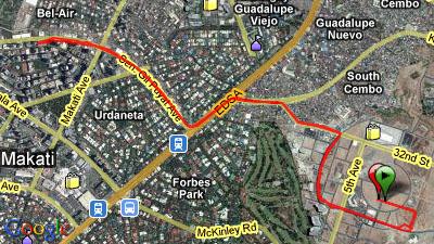 Mizuno Infinity Run 2009 10K Route