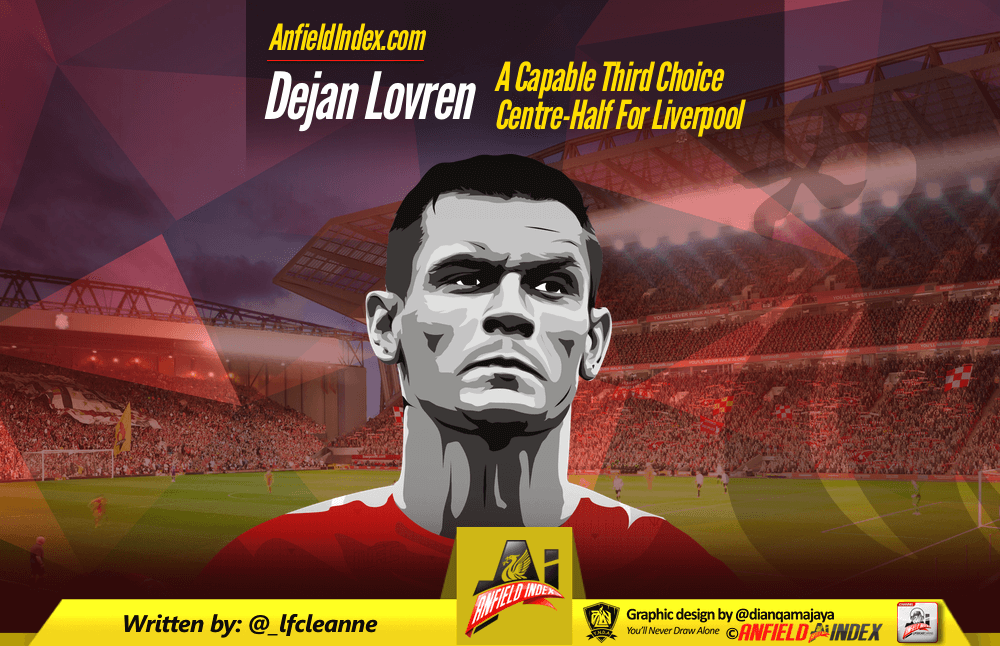 Dejan Lovren: A Capable Third Choice Centre-Half For Liverpool