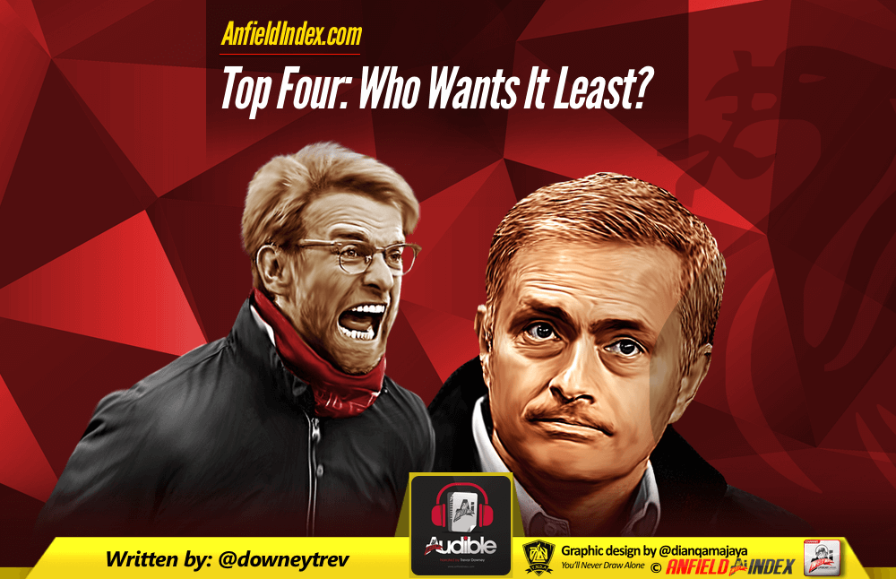 Top Four: Who Wants It Least?