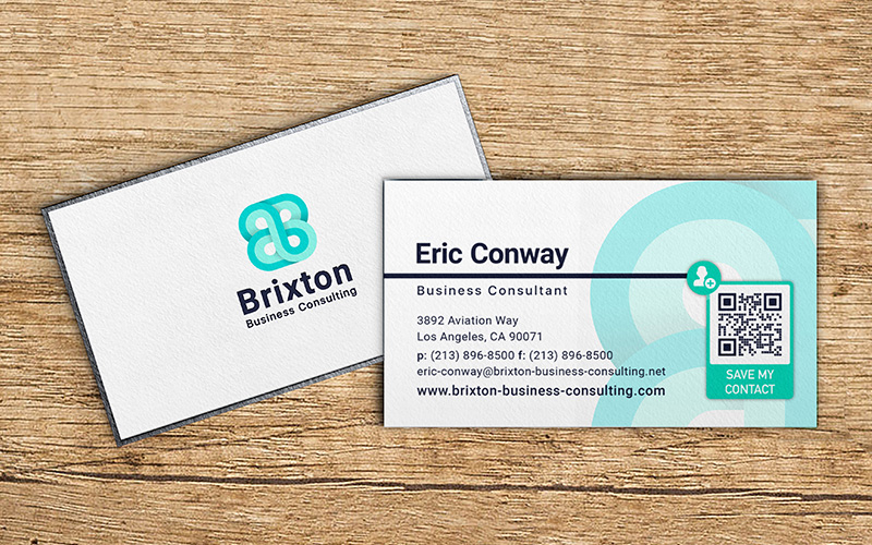 Using Qr Codes For Business Cards Other Business Examples