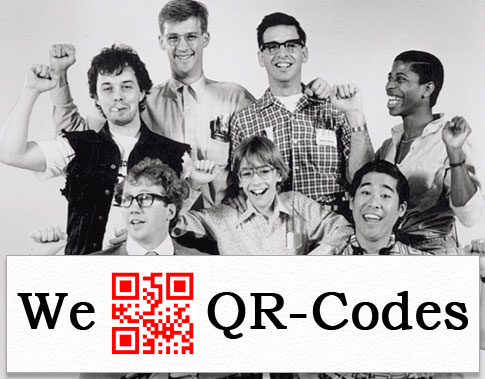 We heart QR codes.