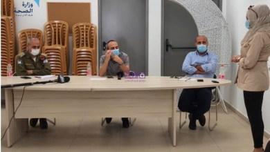 Photo of البروفيسور جامزو يزور القدس الشرقية في ظل ارتفاع الوفيات والمصابين بكورونا