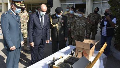 صورة الجيش اللبناني يتسلم شحنة ذخائر حية من تركيا