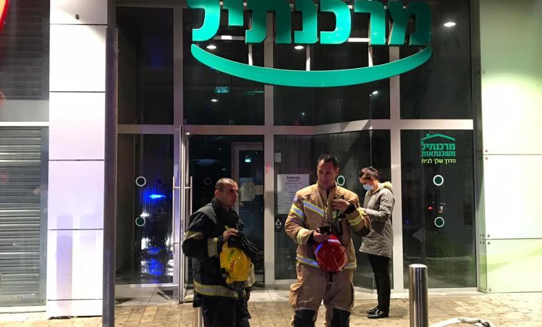 صورة استمرار ظاهرة اطلاق النار على البنوك في بلدات الجليل