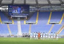 صورة نابولي بقميص الأرجنتين ضد روما تكريماً لأسطورته مارادونا