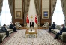 صورة أنقرة.. الرئيس أردوغان يستقبل الشيخ عكرمة صبري