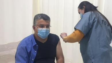 صورة تلقّى النائب د. يوسف جبارين التطعيم الاول ضد فيروس الكورونا