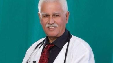 صورة وفاة الدكتور عفيف ابو مخ من باقة الغربية…