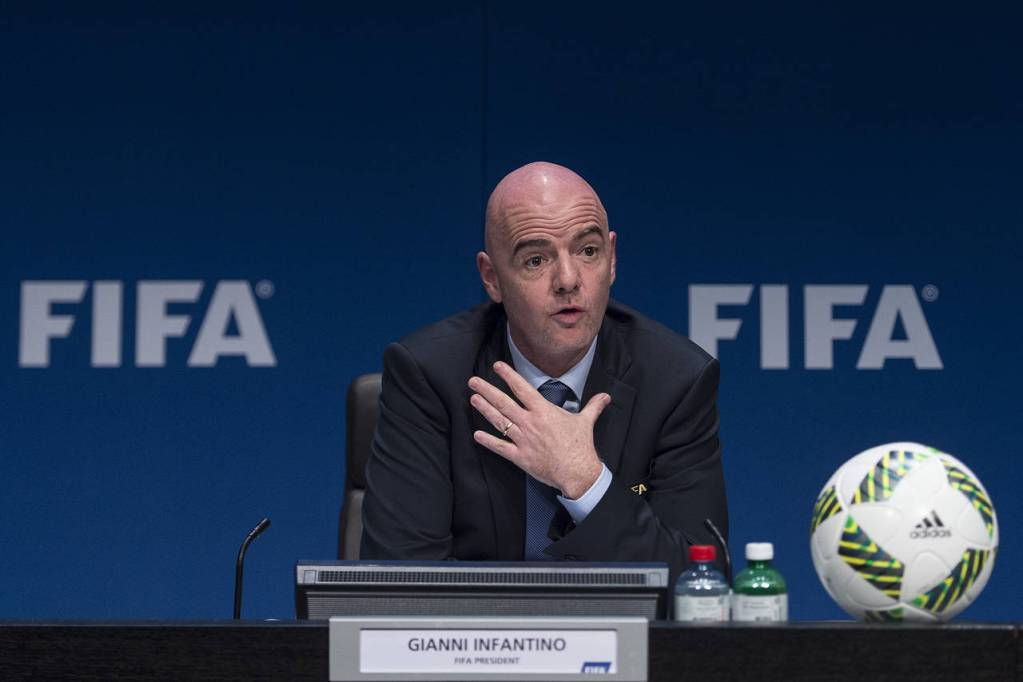 FIFA president Gianni Infantino (Valeriano Di Domenico/Getty Images)