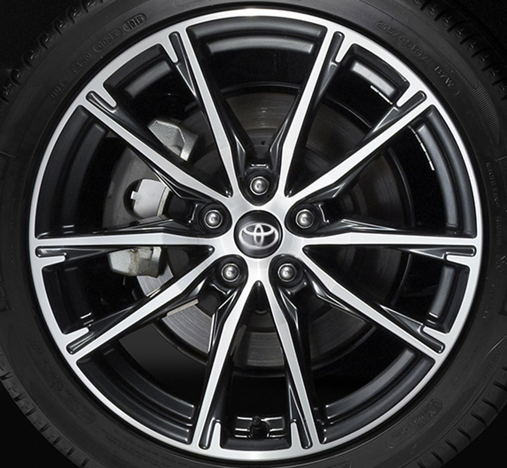 2017 Toyota 86 Wheel