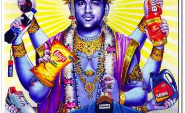 Dhoni as Vishnu: Who is offended?