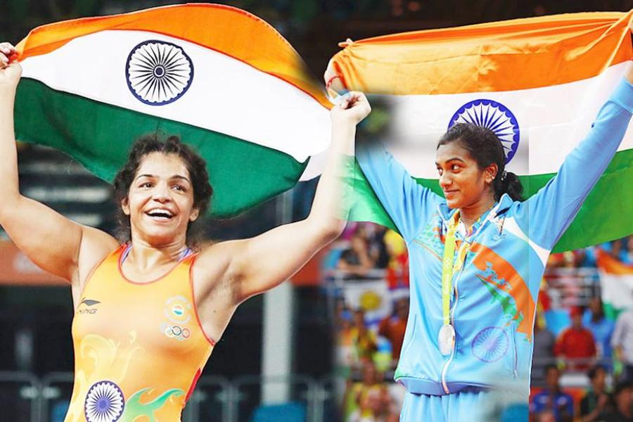 If there is one phrase that perfectly describes India's performance at the 2016 Olympics, it's: 'Women Power'. Be it PV Sindhu smashing off competition, Sakshi Malik beating opponents to the pulp