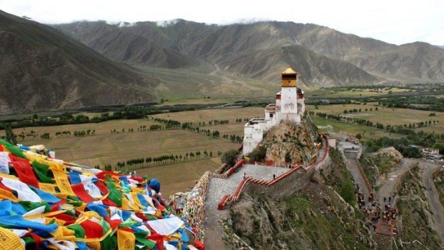 Tibet was independent till 1950 when the Chinese sent its forces to forcibly annexe it