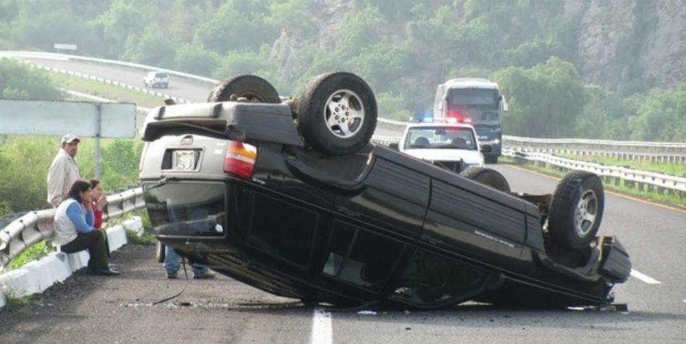 Cinco accidentes carreteros más frecuentes