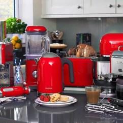 Red Kitchen Appliances Splashback Qrmart Top Trendy Singapore