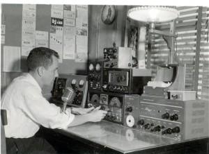 Johnson's Nashville, TN shack, circa 1955/56. (Click to enlarge)