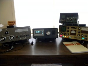 W4ZCB's shack today is based around his home brew SDR transceiver, the PicaStar. (Click to enlarge)