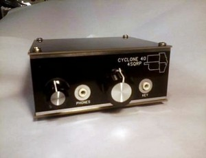 NM0S's Cylcone 40M QRP transceiver.  Look for it at Four Days in May!