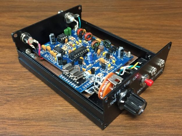 DC30B QRP Transceiver Project
