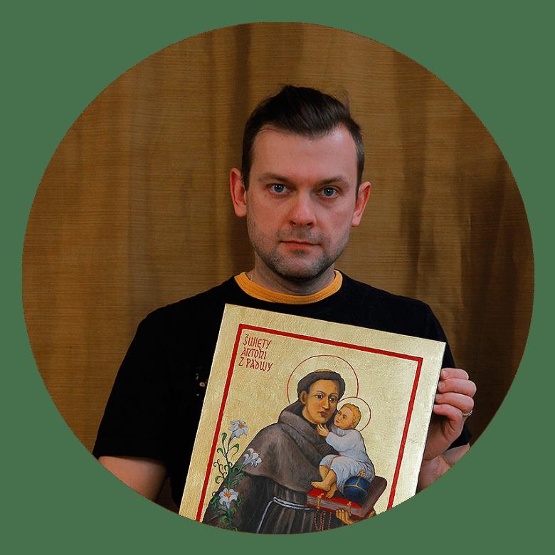 Piotr Wawryło z Ikoną