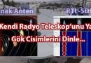RTL-SDR İçin Çanak Anteni Uygun Antene Nasıl Çevrilir?  Kozmik Cisimler Nasıl Dinlenir ? Amatör Astronomiye İlk Adım