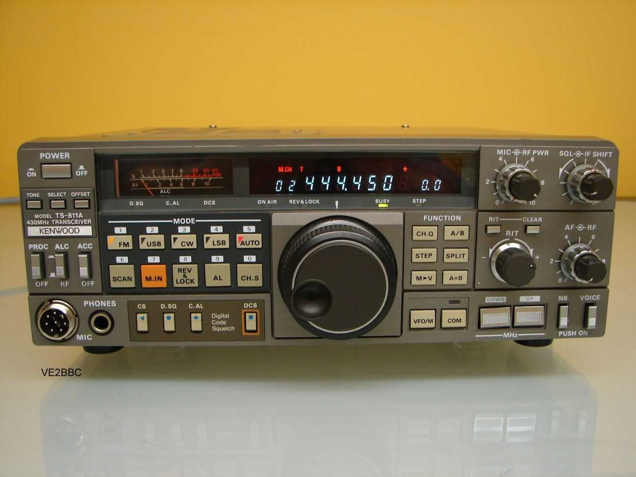 hight resolution of kenwood ts 811a pic