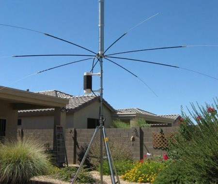 The Antenna SA-680HP covers 10 through 80 meters