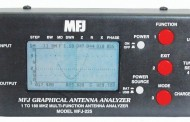 MFJ -225 HF/VHF, 1.8-170 MHZ GRAPHIC ANALYZER